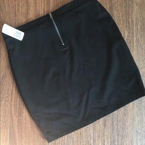 NWT Black Mini Skirt!